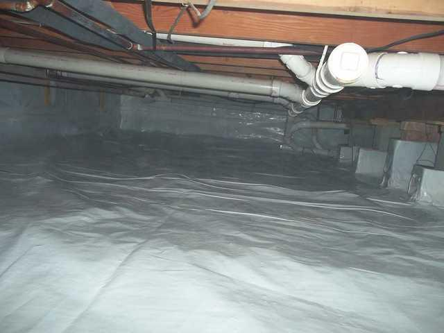 CleanSpace Liner Keeps Moisture Out of West Branch, MI Crawl Space