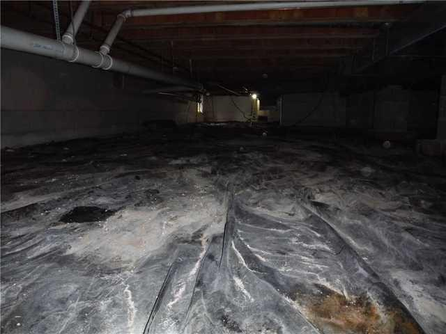 Cheboygan, MI Crawl Space Liner Upgraded to CleanSpace