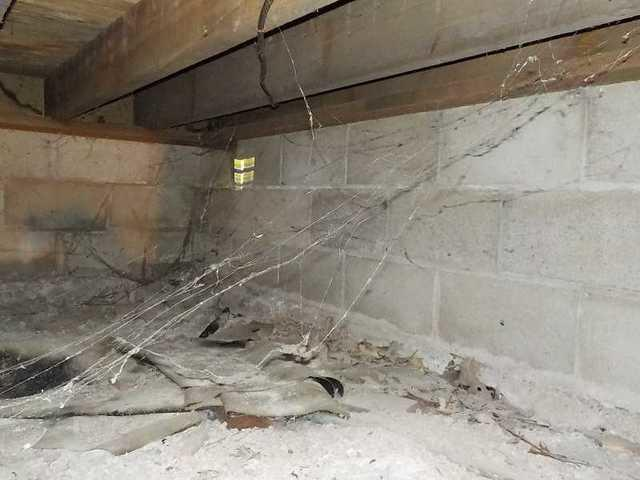Ceresco Crawl Space Tranformed from Creepy to Clean