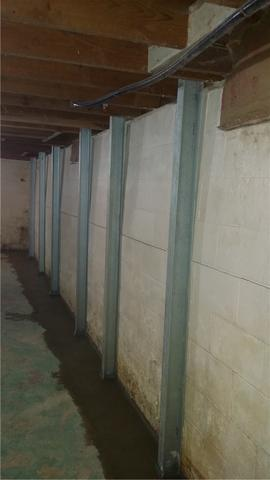 PowerBrace and WaterGuard Systems Save Holland Basement