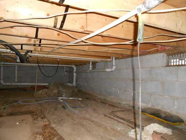 CleanSpace and SilverGlo Improve Wolverine, MI Crawl Space