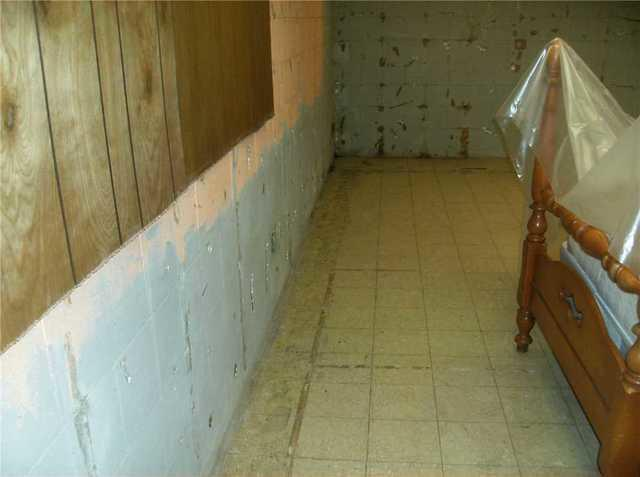Basement Upgraded with Waterproof Paneling and Flooring in Lansing