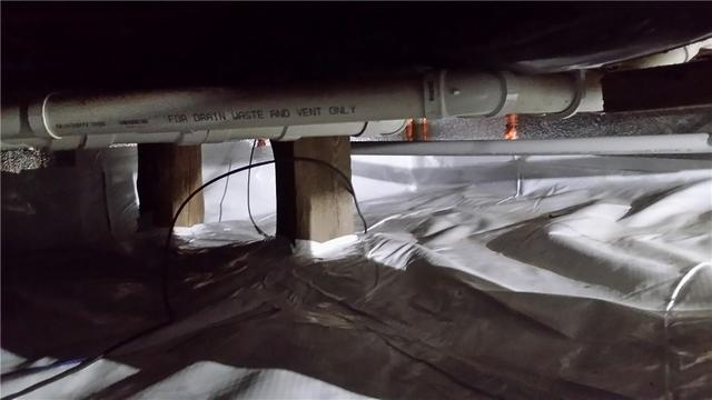 Musty Crawl Space Fixed With CleanSpace in Traverse City, MI