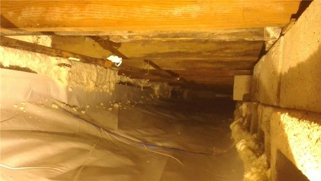 CleanSpace Saves Damp Crawl Space in Crystal, MI