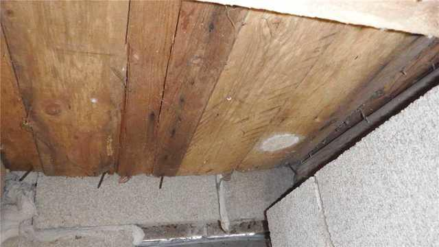 Supporting a Rotting Joist with SmartJacks in Fife Lake, MI