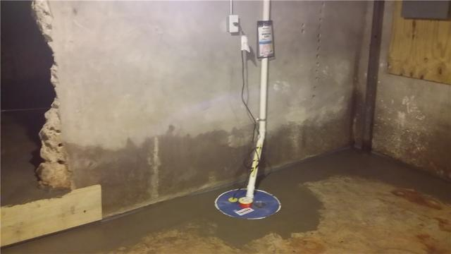 Waterproofing a Basement in Fife Lake, MI