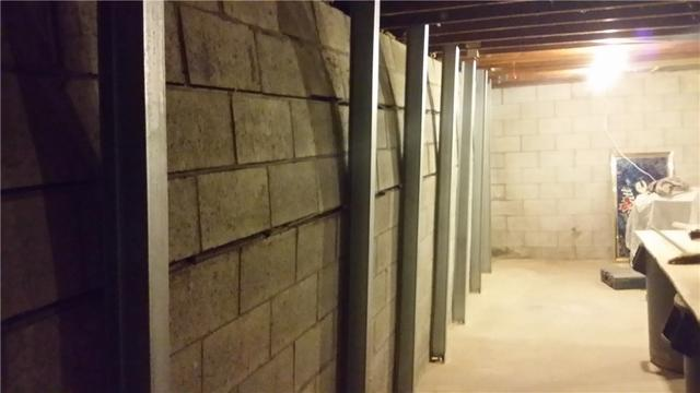 PowerBraces Support Bowing Wall in West Olive, MI