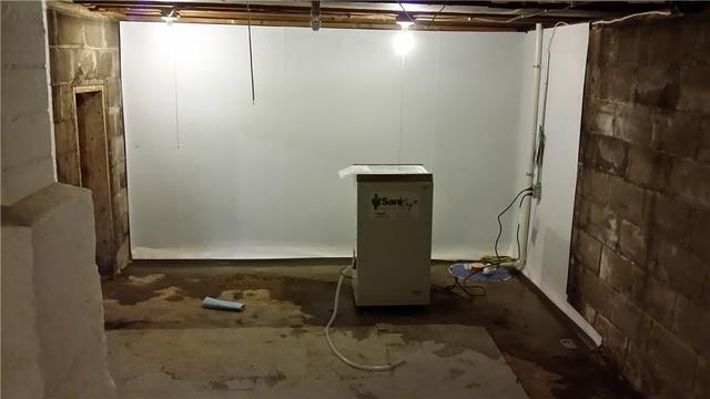 Musty Basement in Galesburg, MI Gets The Dry Treatment