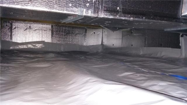 Dirty Crawl Space Improved with CleanSpace in Harbor Springs, MI