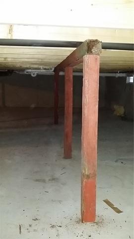 SmartJacks Replace Failing Wood Posts In Plainwell, MI