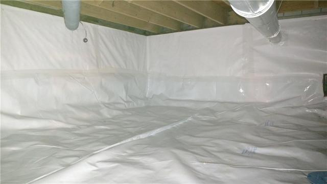 Moist and Moldy Crawl Space Fixed With CleanSpace in Dorr, MI