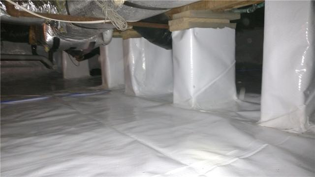 Messy Crawl Space Remedied with CleanSpace