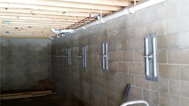 Bowing Wall Remedied In South Boardman, MI