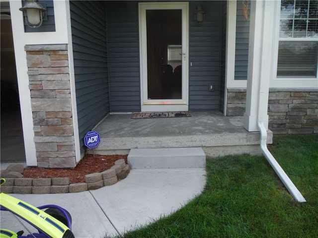 Unleveled Patio Fixed With PolyLevel in Battle Creek, MI