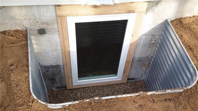 Egress Window Installed  Kent City, MI Basement