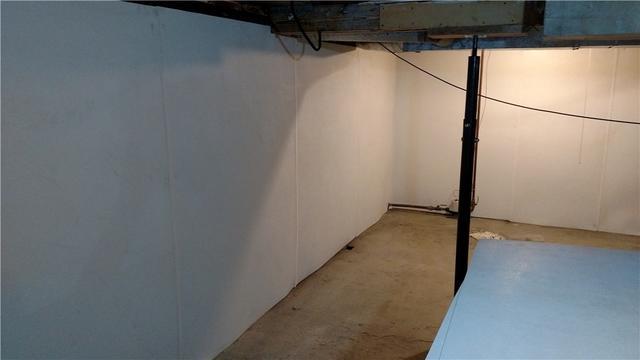 BrightWall Panels in Ludington, MI Basement