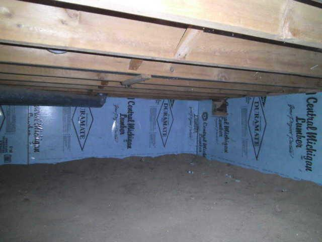 CleanSpace Encapsulates Damp Crawl Space in Weidman, MI