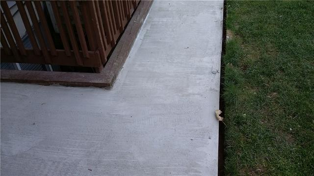New Concrete Replaces Uneven Walkway In Mattawan, MI