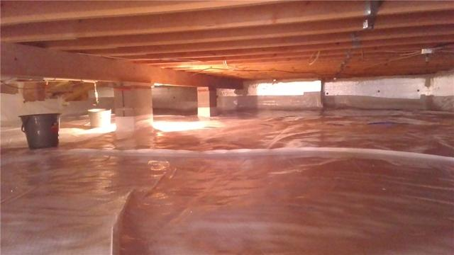 Hartford, MI Home Installs CleanSpace in their Crawl Space
