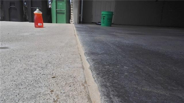 Sinking Slab At Garage Entrance Lifted In Zeeland, MI