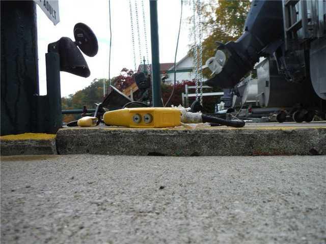 PolyLevel Repairs Concrete Slab in Whitehall, MI
