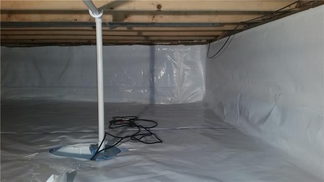 SmartSump and CleanSpace Save Leaky Middleville, MI Crawl Space