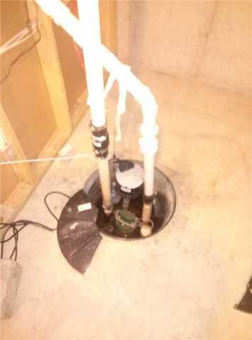 Upgrading a Sump Pump in Otsego, MI