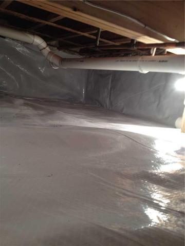 Encapsulating a Crawl Space for Energy Savings in Chippewa Lake, MI