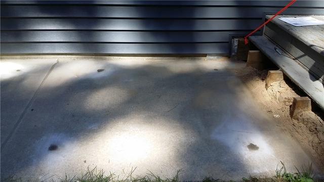 PolyLevel Restored Unleveled Sidewalk in Belding, MI