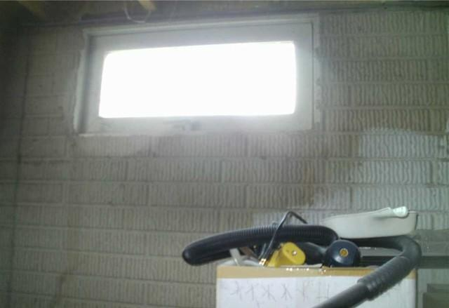 Egress Window Brightens Onsted, MI Basement
