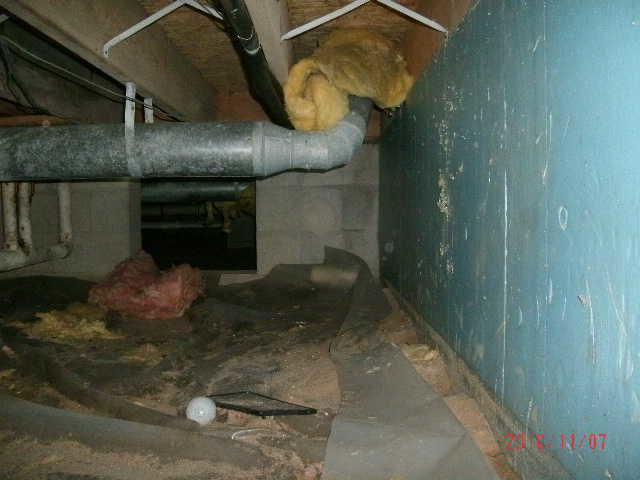 Awful Smell from a Crawl Space in Thompsonville, MI