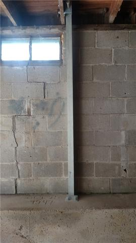 PowerBrace System Reinforced Unstable Wall in Dewitt, MI