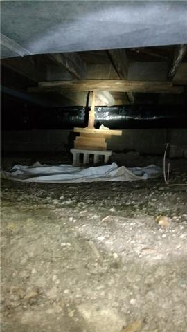 CleanSpace Repairs Crawlspace in Battle Creek, MI
