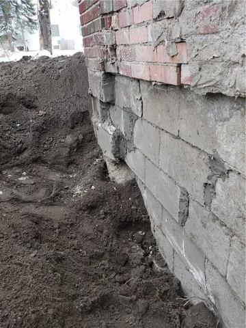Helical Piers Fix Falling Foundation in Lansing, MI