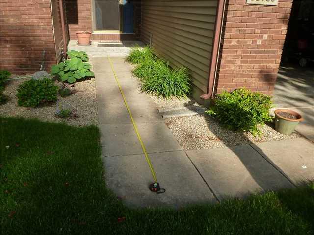 PolyLevel Repairs Unleveled Sidewalks and Dirveway in Osceola, IN