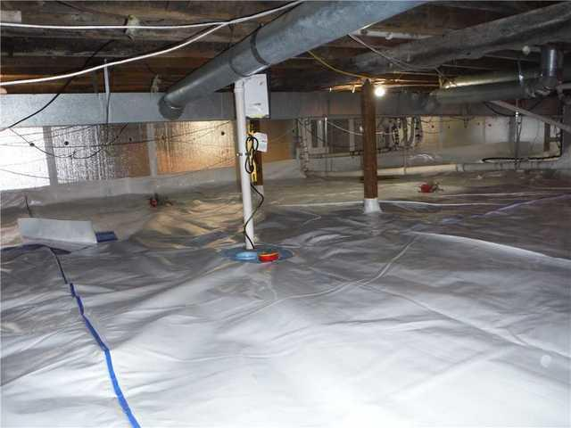 Crawl Space in Rose City, MI Gets New CleanSpace System