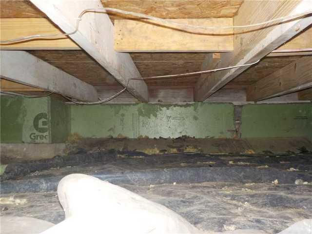 Removing Mositure From Musty Brooklyn, MI CrawlSpace