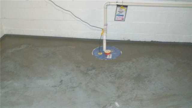 SuperSump Sump Pump Install in Morton Shores, MI