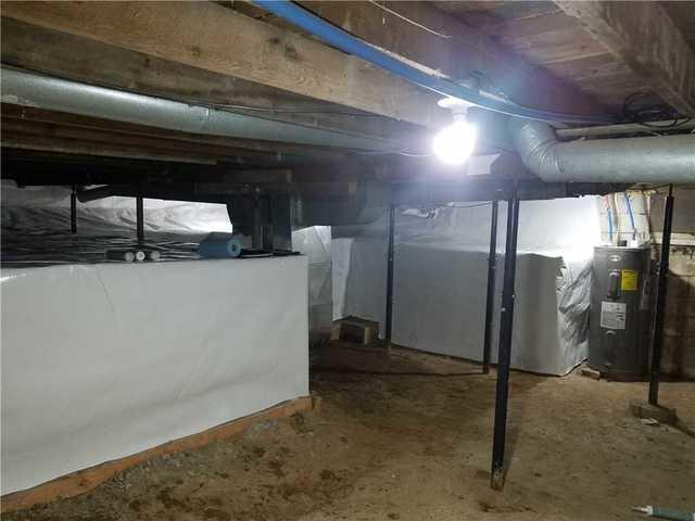 CleanSpace Installed in Mason, MI Basement
