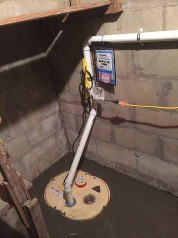 No Sump Pump Upgrades to SuperSump in Saint Joseph, MI