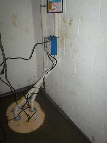 TripleSafe Sump Pump Installed in Wheeler, MI