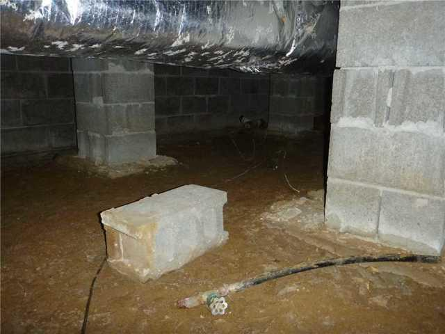 CleanSpace Saves This Crawl Space in Laingsburg, MI