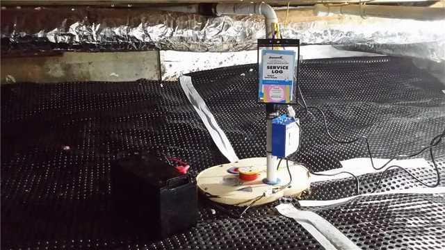 TripleSafe Sump Pump Installed in Ostego, MI Crawl Space