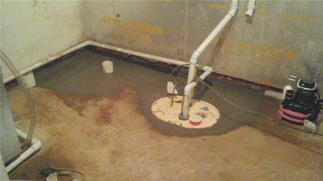 TripleSafe Sump Pump Works Wonders in Dimondale, MI Basement