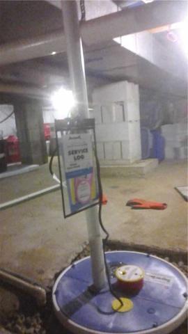 SuperSump Pump Installation in Jackson, MI
