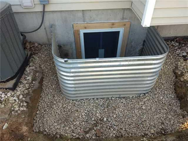 Improving an Egress Window in Hamilton, MI