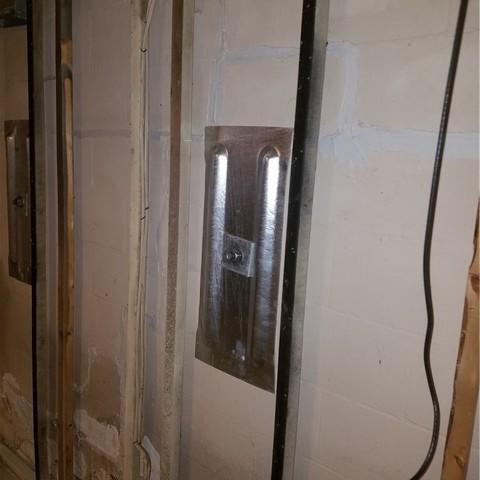 East Lansing, MI Basement with Cracked Foundation