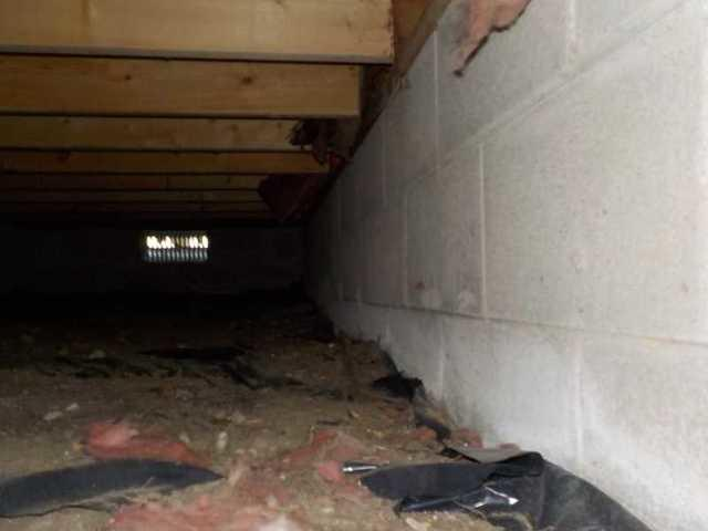 CleanSpace Restores Dark, Damp Crawl Space in Harrison, MI