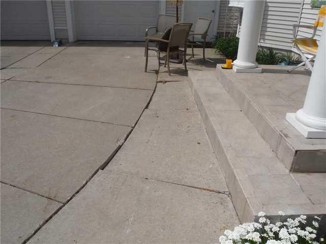 Uneven Sidewalk in Williamsburg, MI