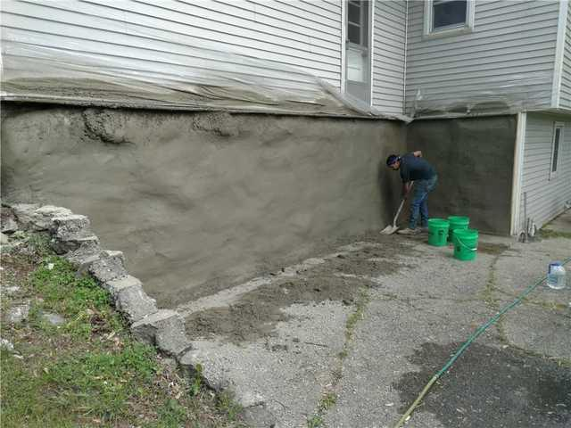 Reinforcing Cracked Wall in Ada, MI